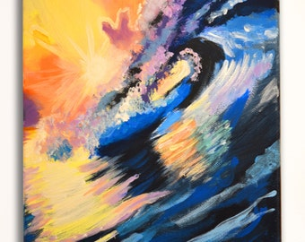 Abstract sea wave