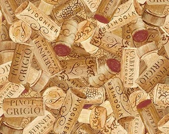Vino Bellisimo by Wilmington Prints  Q1651-60775-213  By the Yard