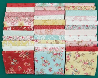 Printemps by Three Sisters for Moda Fabrics.  34 - Half Yard Cuts  RARE FIND