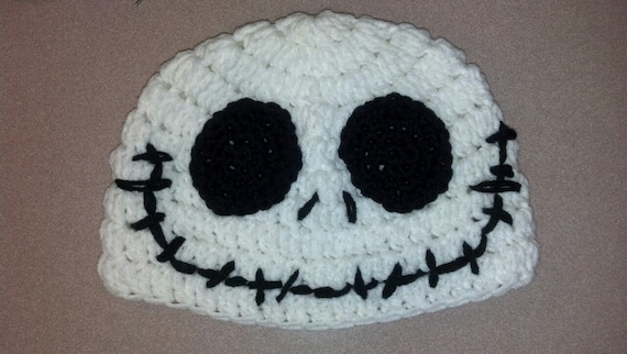 Jack Skellington Crochet Hat Pattern Etsy