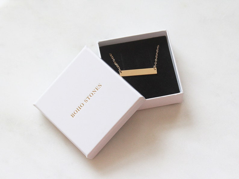 Bar Earrings 14k Gold Filled and Sterling Silver \u00b7 Simple Bar Drop Earrings \u00b7 Gift for her