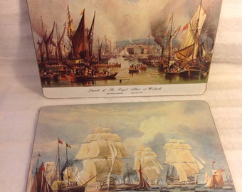 Lady Clare trivets  made in England vintage