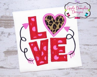 Valentine Applique Etsy