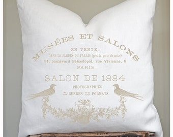 Cottage and French Farmhouse Pillows and Throws. by LeLisHome