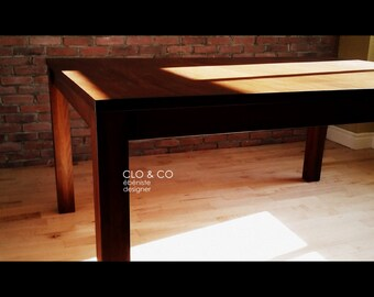 Extensible table with 2 extensions hidden under the top.