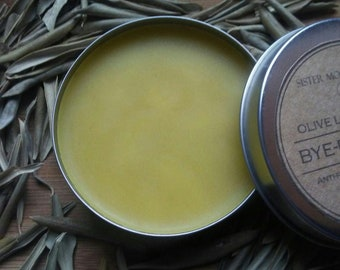 Anti-fungal Salve - Olive Leaf + Myrrh - Anti-bacterial Salve