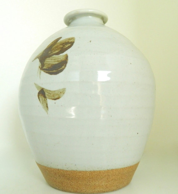 Geoffrey Whiting Bottle Vase Studio Pottery Fine Art Ceramic Etsy