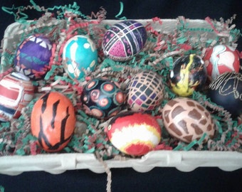 Easter eggs, decorated eggs
