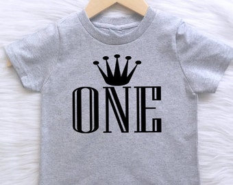 ALL SIZES Customizable Colors boys first birthday shirt