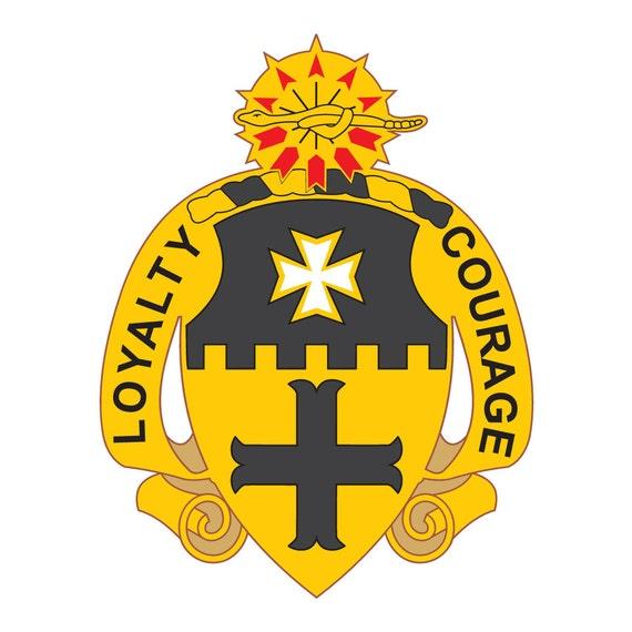 Army14th Cavalry Regiment Decal Sticker   U.S