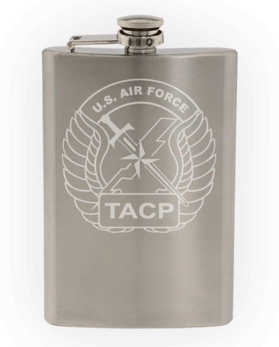 8oz 82nd Airborne Ranger Hip Flask Hip Flask Plus