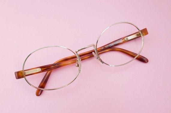 61794b20262 Gucci Oval frame rare pink gold   Round Oval Unisex eyewear