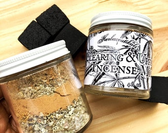 Clearing & Upful Incense Mix