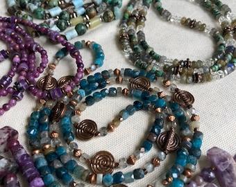 Custom crystal jewelry