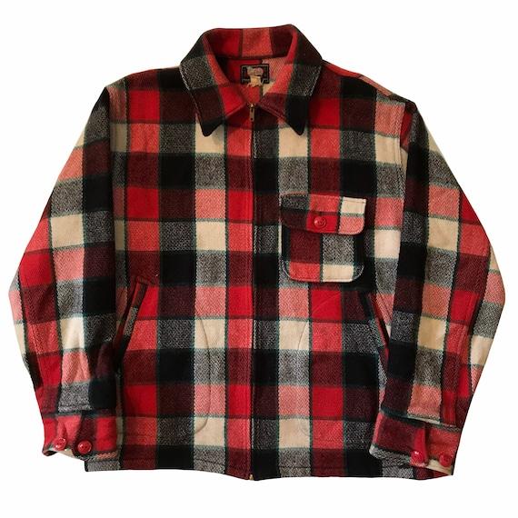 Vintage 1940s-50s Woolrich Wool Jacket Mens Size M