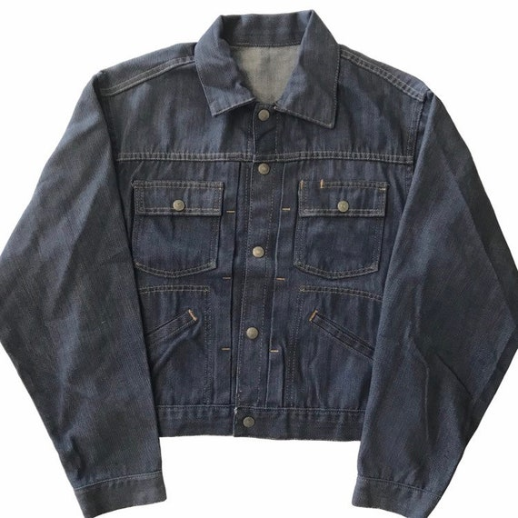 Vintage 1960s JC Penney Ranch Craft Denim Jacket M