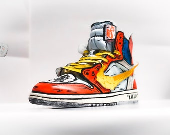 Goku Off-White Jordan 1 inspired custom 8382800c801f