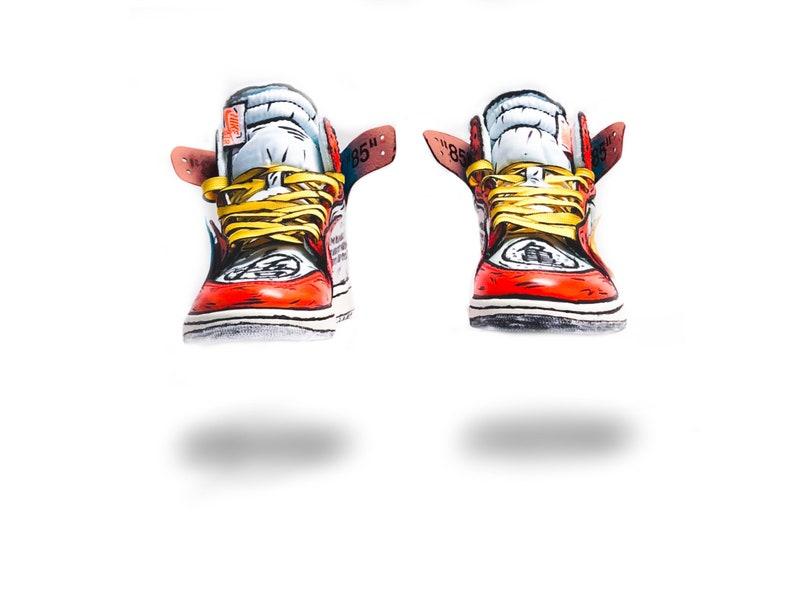 017172a5ee73 Goku Off-White Jordan 1 inspired custom