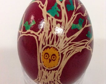 Tree of Life customizable pysanka egg