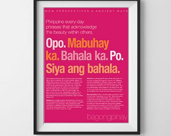 Philippine sayings that acknowledge the beauty within others.