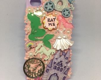 Fairytale-themed decoden iphone 4 Case