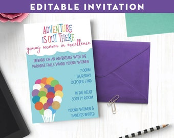 Disney up invitation Etsy