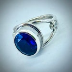 Sapphire Ring, custom for CPMcC