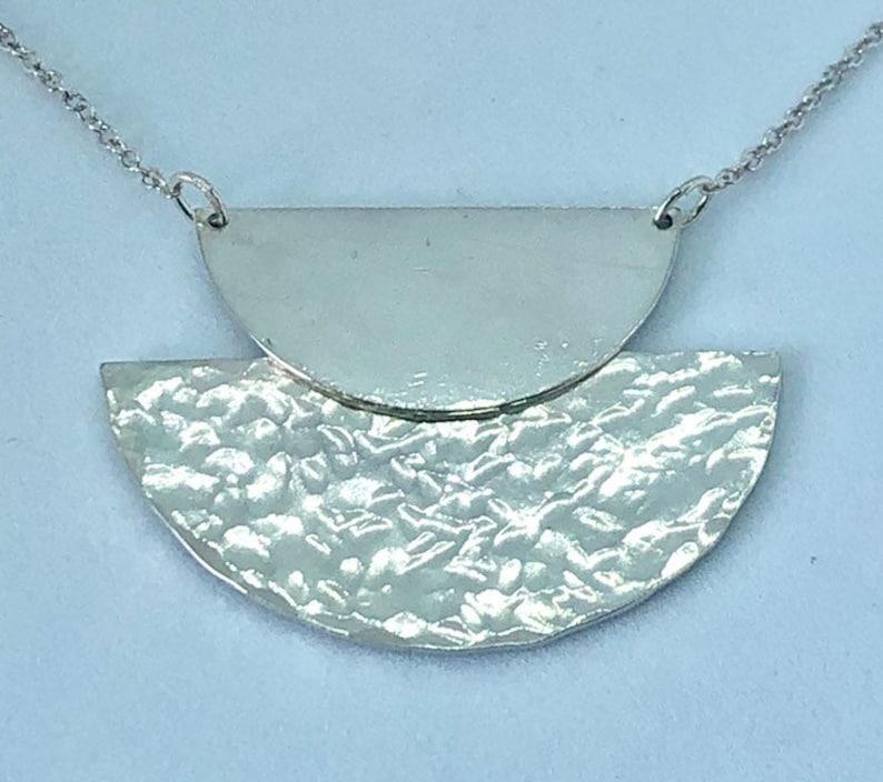 Art Deco necklace Geometric Necklace image 0