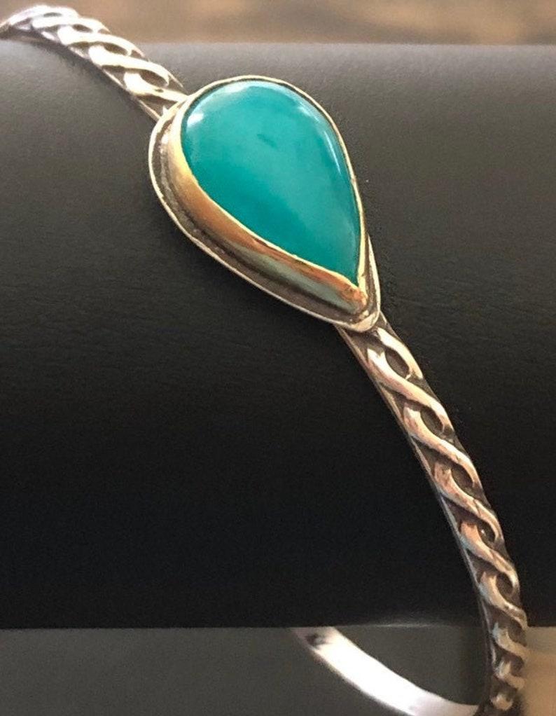 Amazonite Bracelet Layering Bracelet image 0