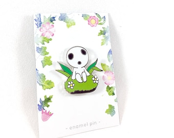 Kodama (Princess Mononoke) Hard Enamel Pin