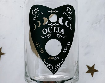 Ouija board coffee cup   Witch mug   fall cup    soda can cup  custom cup  beer glass