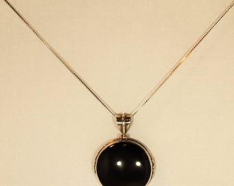 Black Onyx pendant #2