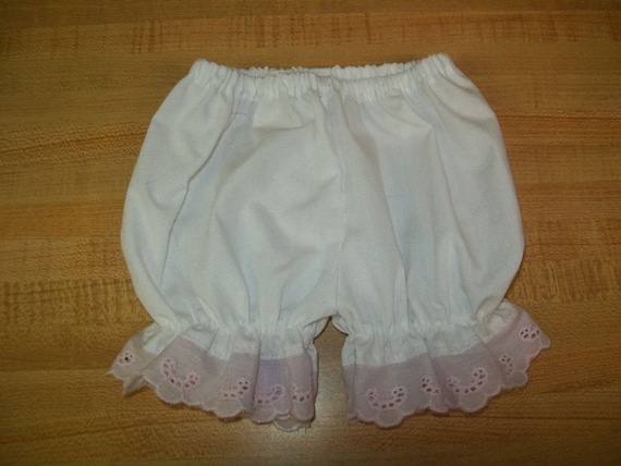 "PURPLE RUFFLED BLOOMERS PANTY PANTIES for 15-16-17-18/"" CPK Cabbage Patch Kids"