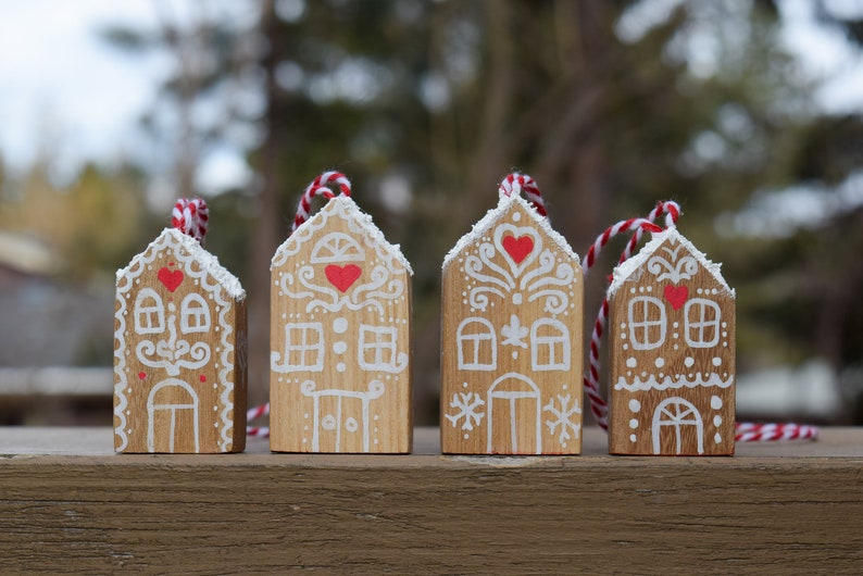 Gingerbread House Christmas Ornaments Gingerbread House image 0