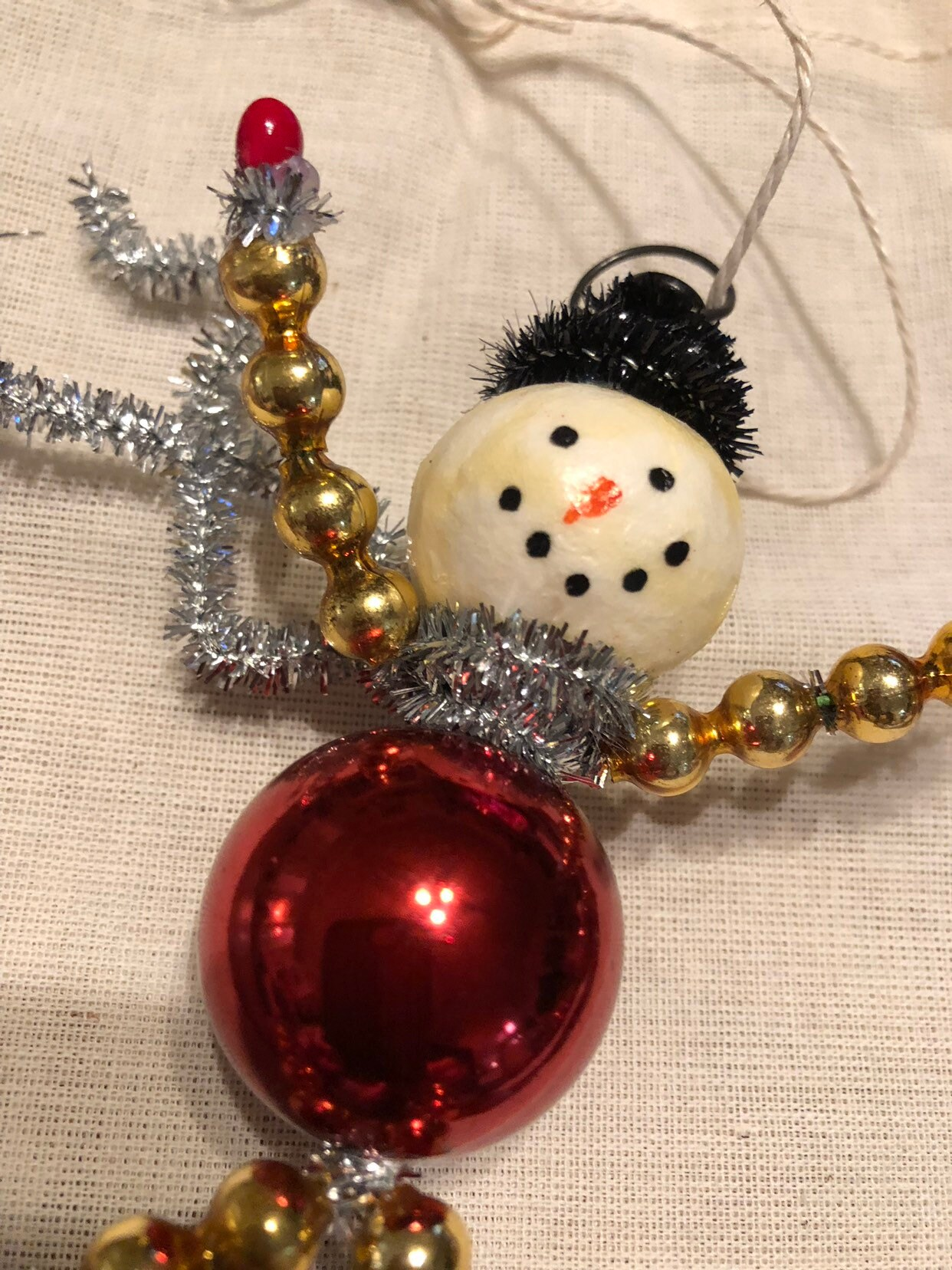 old time glass christmas ornaments