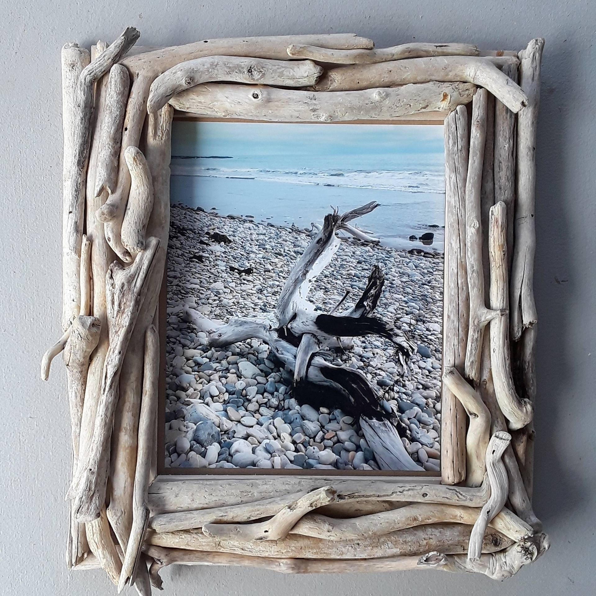 Driftwood frame, 8x10 Picture Frame, Driftwood Home Decor, Beach ...