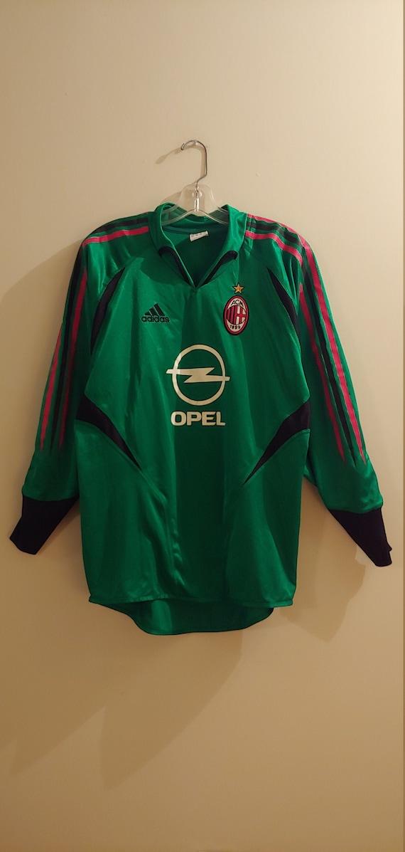 ADIDAS AC MILAN OPEL soccer rare vintage jersey Sport e viaggi Donna