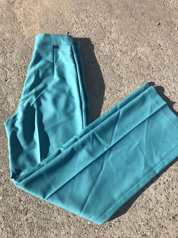 Vintage Turquoise *Black Tab Levi's Bell Bottoms S