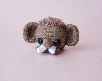 Custom Crochet Wooly Mammoth / Personalized Mammoth Plush / Custom Pocket Critter