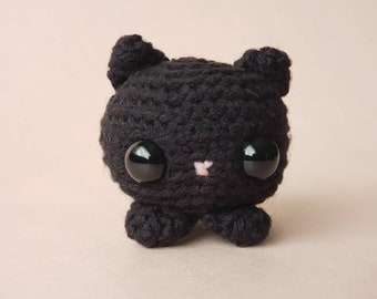 Custom Crochet Cat / Personalized Cat Plush / Custom Pocket Critter