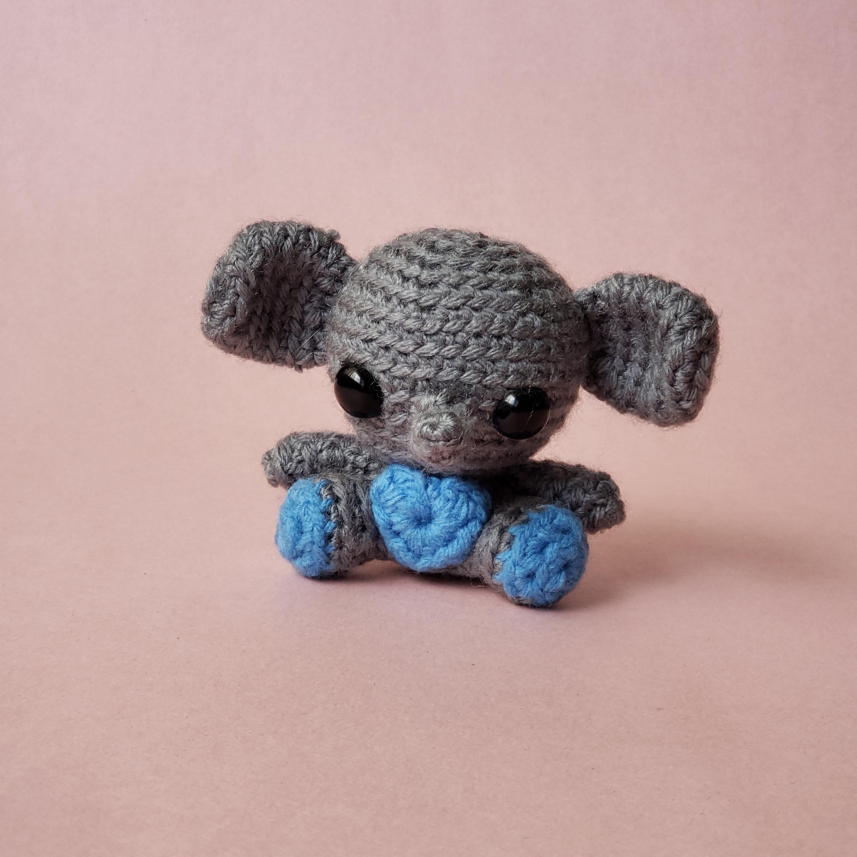 Handmade Crochet Elephant Doll Toy Plushie Baby Shower   Etsy   3000x3000
