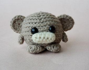 Custom Crochet Monkey / Personalized Monkey Plush / Custom Pocket Critter