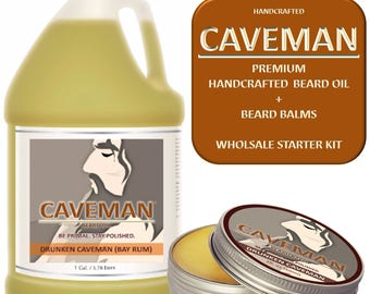 Shaving & Hair Removal Hand Crafted Tobacco Beard Oil Conditioner 2 Oz By Caveman® Beard Care Shave