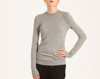 Cashmere sweater women, Cashmere pullover woman, Natural wool sweater, 1 ply cashmere jumper, Winter sweater, Wool sweater, Knit sweater