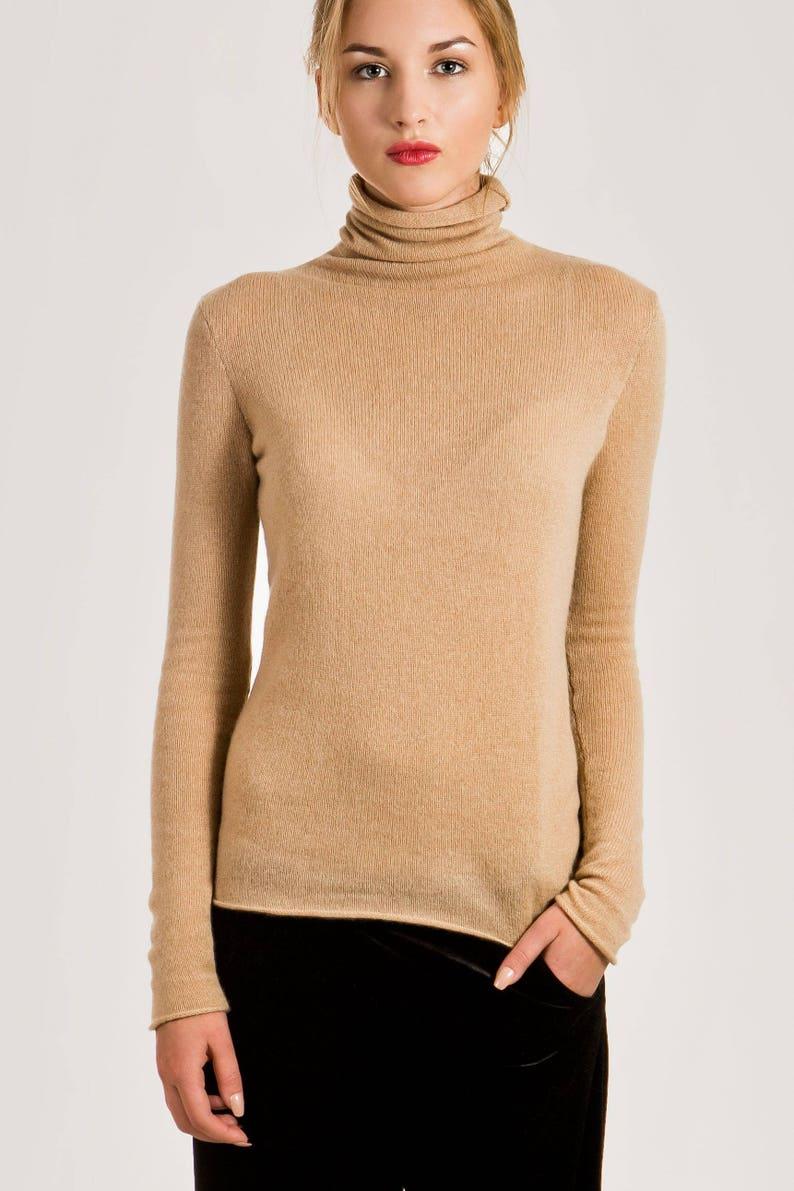 0452774cd3a5 Cashmere turtleneck sweater   Womens turtleneck sweater