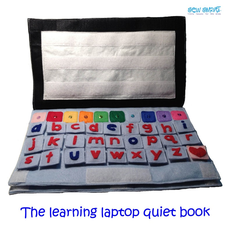 The Learning Laptop Quiet Book
