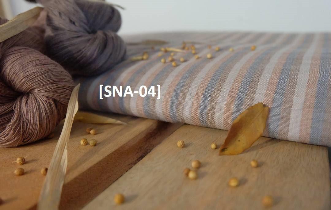Rouleau de 50 50 50 m tissage Ikat tissu rayé colorant naturel (gros indonésienne rayée gris corail brun crème Ikat) #SNA-04 837cd6