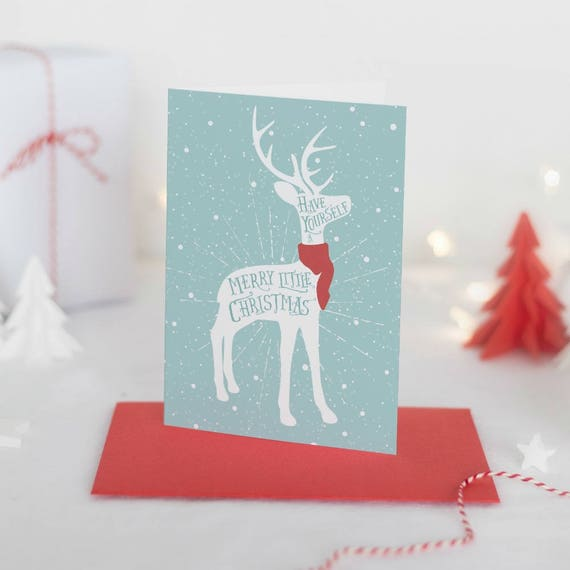 Reindeer Christmas Cards.Reindeer Christmas Card Christmas Card Box Set Rustic Christmas Card Pack Holiday Greeting Cards Boxed Christmas Cards Set Of 10 Or 20