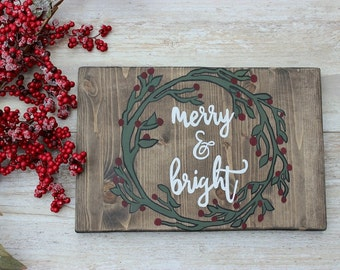 Rustic Christmas Decor, Farmhouse Christmas, Christmas Wood Signs, Christmas Wooden Signs, Holiday Decor, Rustic Christmas Signs, Xmas Decor