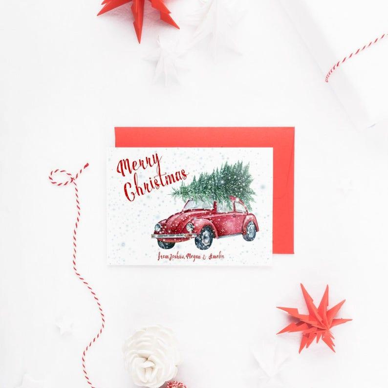 Weihnachtskarten Personalisiert.Familie Weihnachtskarten Personalisierte Weihnachtskarten Retro Weihnachtskarte Weihnachtskarten Weihnachtskarte Weihnachtskarten Set Set Von 10